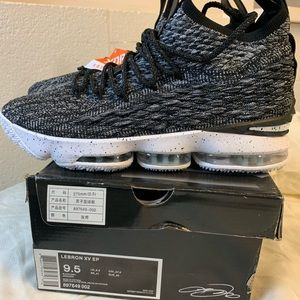 New NIKE LeBron XV 15 EP ASHES sz 9.5 897649 002